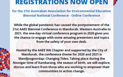 AAEE virtual Conference – Manjoorgoordap – Changing Tides