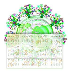 2021 Sustainability Dates Calendar
